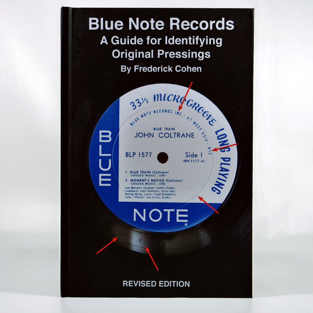 Blue Note Records - A Guide for Identifying Original Pressings (Hard cover)