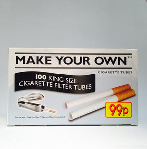 Which tobaccos are suitable for use with cigarette tubes?