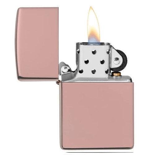 Zippo Rose Gold High Polish 49190