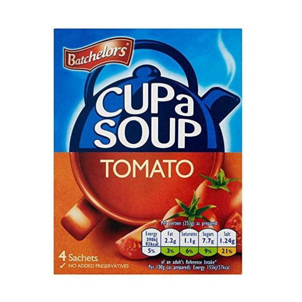 Batchelors Cup a Soup Tomato 4 Sachets