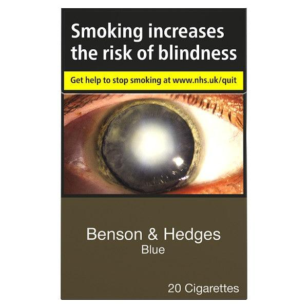 Benson & Hedges King Size Blue Cigarettes
