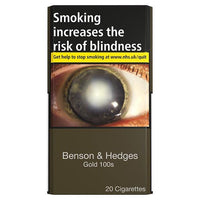 Benson & Hedges Gold Superking 100's Cigarettes