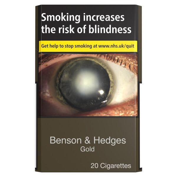 Benson & Hedges Gold Cigarettes