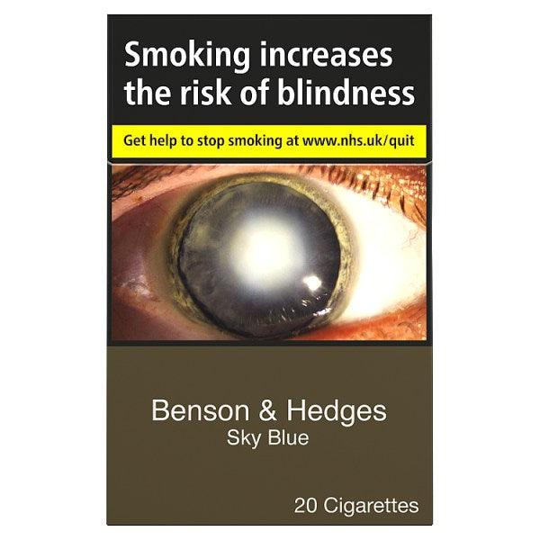 Benson & Hedges Sky Blue King Size Cigarettes