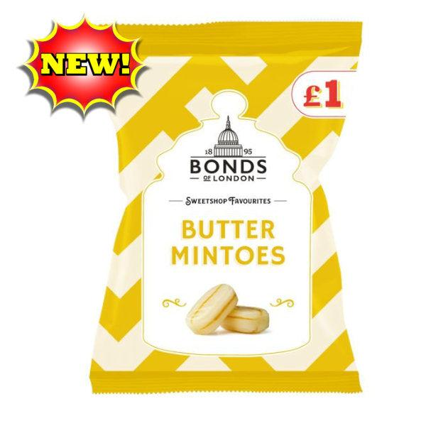 Bonds Butter Mintoes Bags 150g