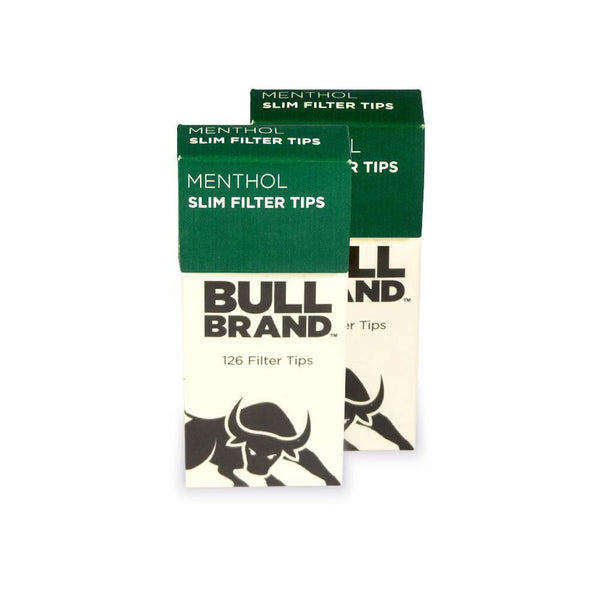 Bull Brand Extra Slim Menthol Tips - Pop Out Box