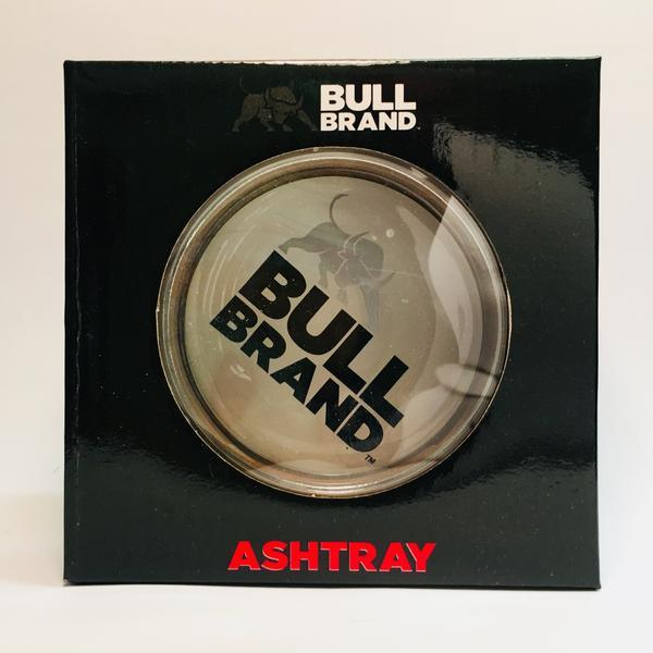 Bull Brand Glass Ashtray