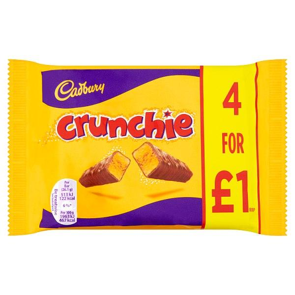 Crunchie 4 for £1.00