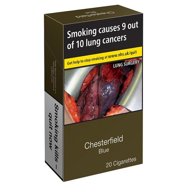 Chesterfield Blue Cigarettes