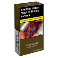 Chesterfield Red Superking Cigarettes