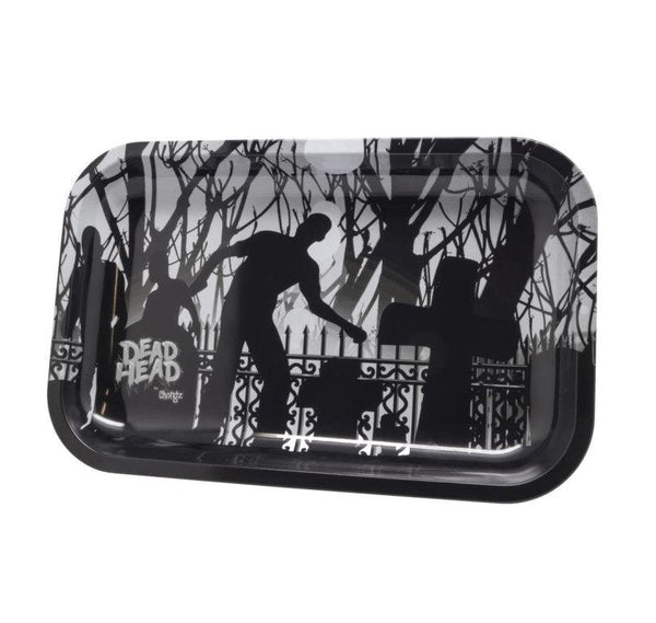 Chongz Dead Head Metal Rolling Tray