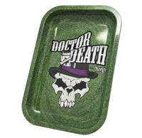 Dr Death Metal Rolling Tray