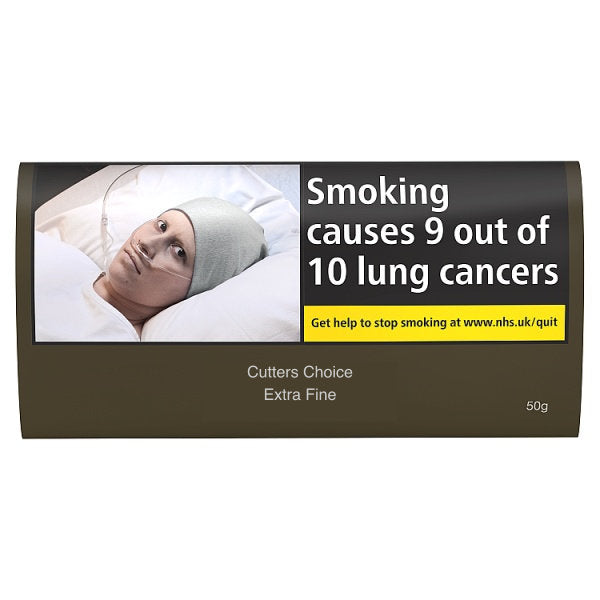 Cutters Choice Extra Fine 50gm Tobacco