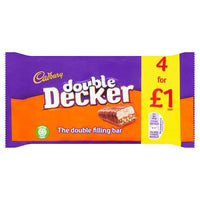 Double Decker Bars 4 for £1.00