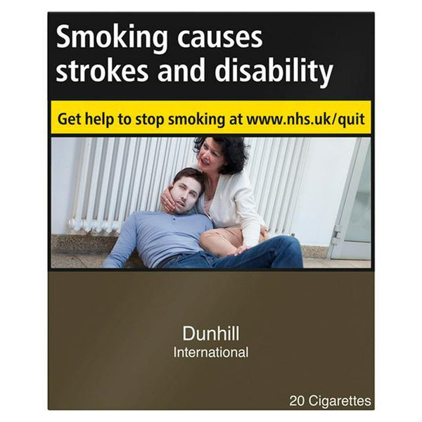 Dunhill International Cigarettes