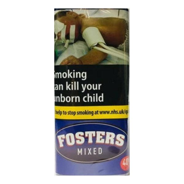 Fosters Mixed 40gm Smoking Tobacco