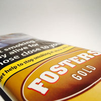 Fosters Gold 12.5gm Smoking Tobacco