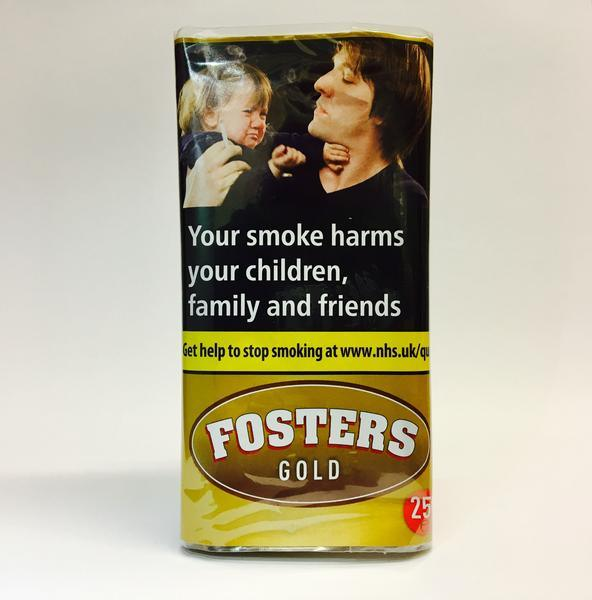 Fosters Gold 25gm Smoking Tobacco