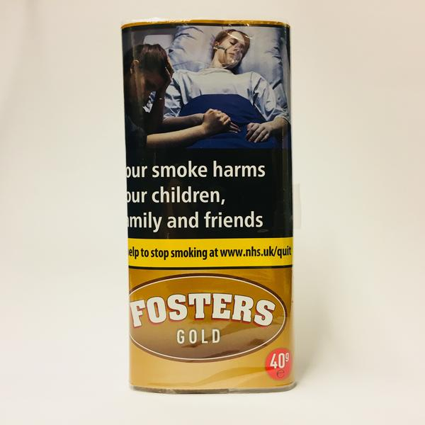 Fosters Gold 40gm Smoking Tobacco