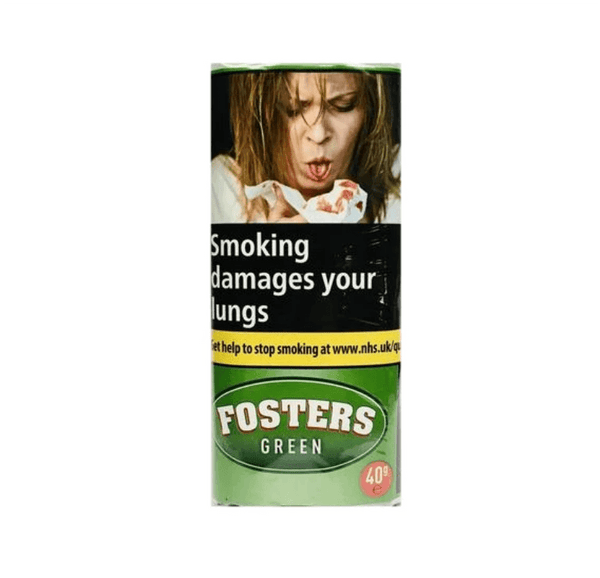 Fosters Green Menthol 40gm Smoking Tobacco