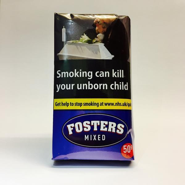 Fosters Mixed Tobacco 50gm