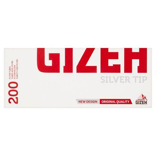 Gizeh Silver Tip Filter Tubes 200s