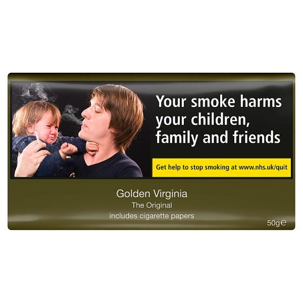 Golden Virginia Tobacco 50gm Pouch