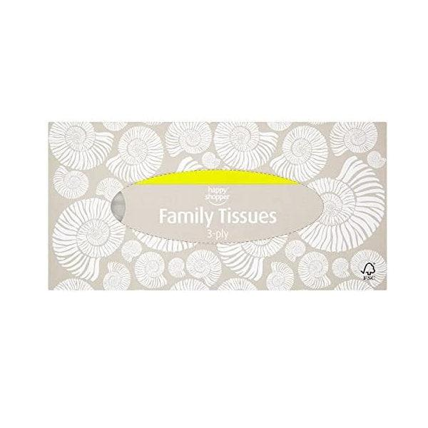 Happy Shopper Family Tissues
