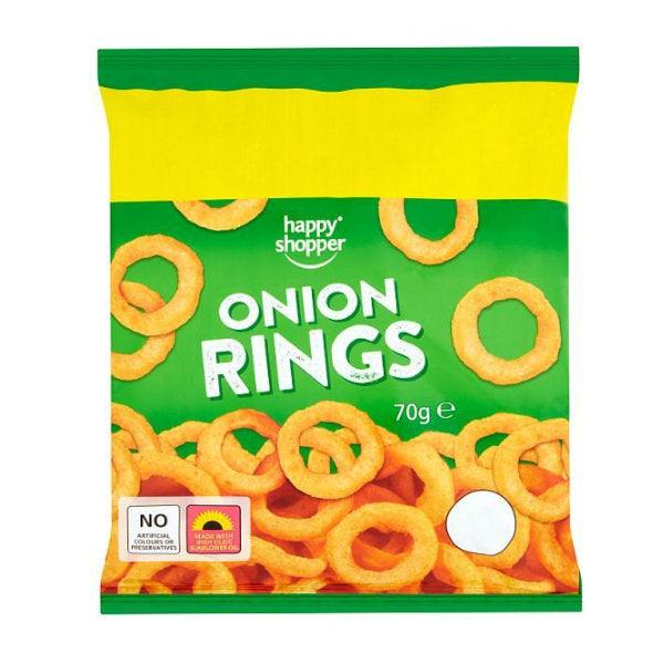 Happy Shopper Onion Rings 70g 2 For £1.00