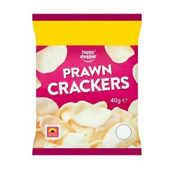 Happy Shopper Prawn Crackers 40g 2 For £1.00