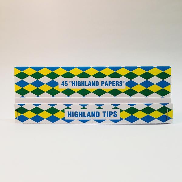 Highland Double Decadence King Size Smoking Papers and Tips
