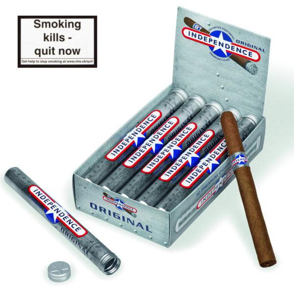 Independence Tubos Cigar Original Silver