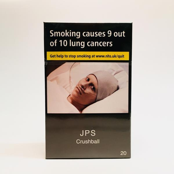 JPS Crushball King Size Cigarettes