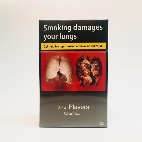 JPS Players Crushball King Size Cigarettes