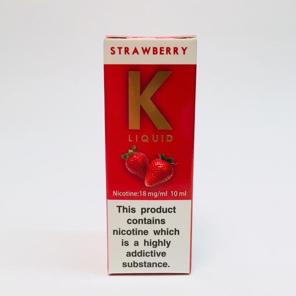 K Liquid Strawberry 18mg