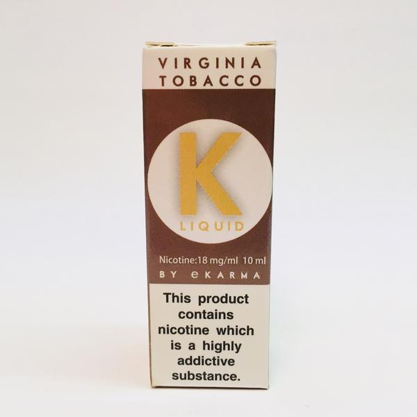 K Liquid Virginia Tobacco 18mg