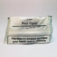 Kendal Black Pigtail Twist Chewing Tobacco