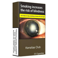 Kensitas Club King Size Cigarettes