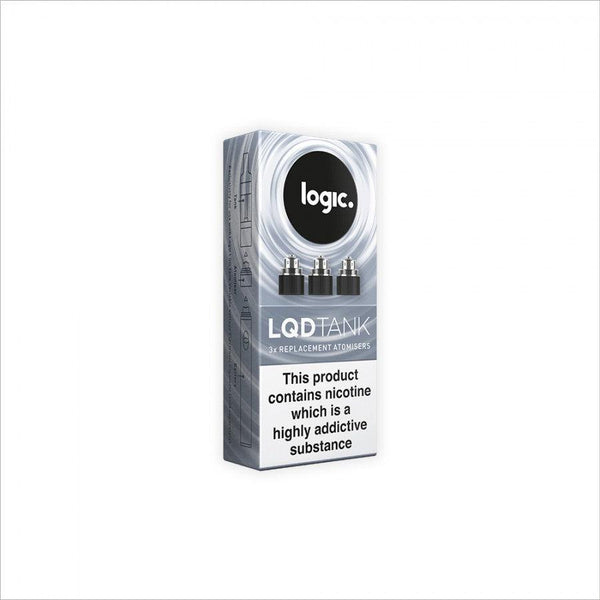Logic LQD Tank 3 Pack Replacement Atomisers