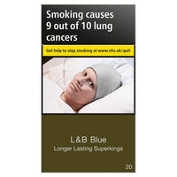 L&B Blue Longer Lasting Superkings 20