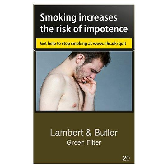 Lambert & Butler Green  Filter Cigarettes