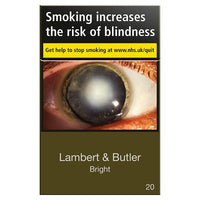 Lambert & Butler Bright Gold Cigarettes