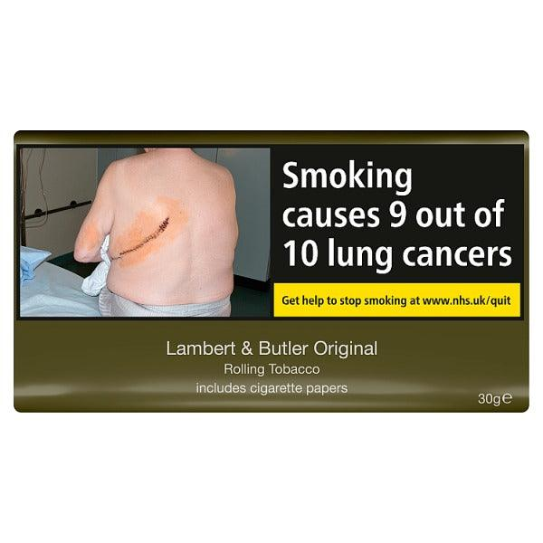 Lambert and Butler Hand Rolling Tobacco 30gm