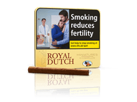 Royal Dutch Miniature *Yellow* Cigars 20's