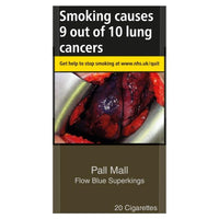 Pall Mall Flow Blue Superking Cigarettes (Not Capsules)