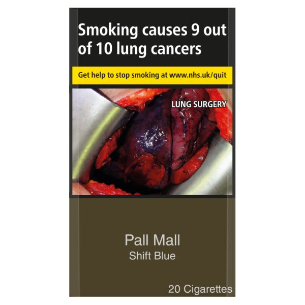 Pall Mall Shift Blue Cigarettes