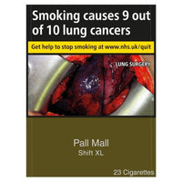 Pall Mall Double XL King Size Cigarettes (Not Capsules)