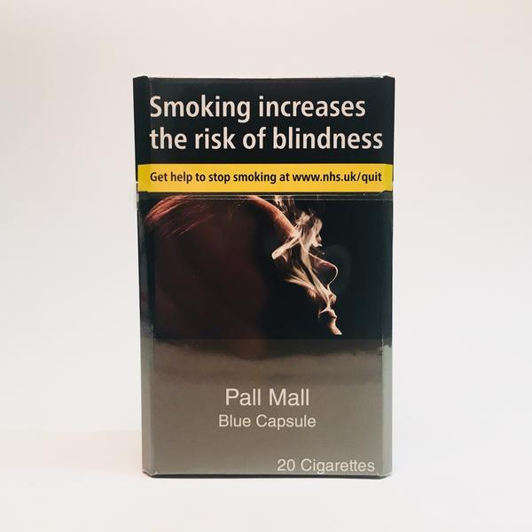 Pall Mall Blue King Size Capsule Cigarettes