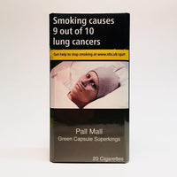 Pall Mall Green Capsule Superking Cigarettes