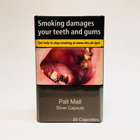 Pall Mall Silver King Size Capsule Cigarettes
